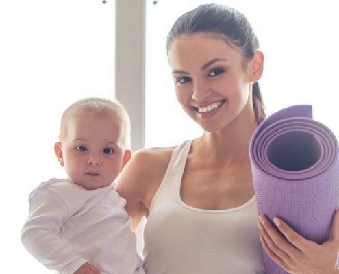 Nachbarschaft Neuhadern Yoga junge Muetter